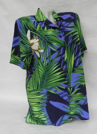 Блуза блузка рубашка яркая оригинальная цветная