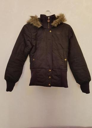 Зимняя пуховая куртка adidas (оригинал)1