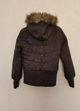 Зимняя пуховая куртка adidas (оригинал)2