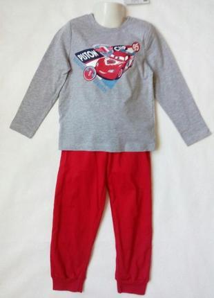 Детская пижама для мальчика disney р.98/104 2-4 года