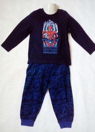 Детская пижама для мальчика disney р.86/92 1-2 года