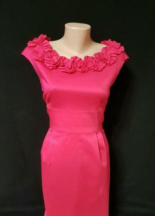 Яркое платье футляр от signature