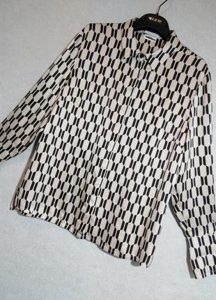 Блуза из шёлка французского бренда elegance