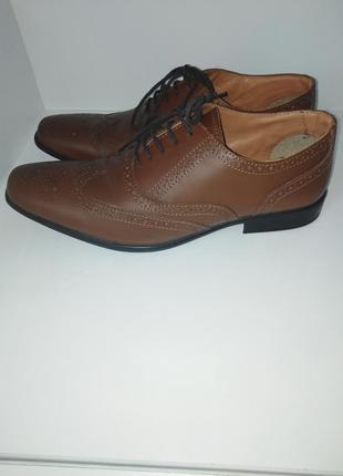 Туфли кожаные 43 размер.