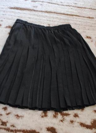 Стильная   юбочка -плиссе на резинке и юбочка -брюки   плисе длинная!