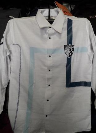 Турецкая коттоновая рубашка