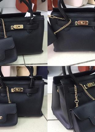 Женская сумка с кошелькрм в комплекте