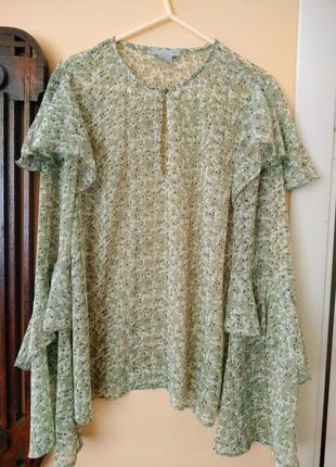 Блузка світло-зеленого кольору (лаймово-оливкова)