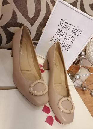 Стильные туфли. натуральная кожа