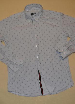 Рубашка gucci размер м-л хлопок турция