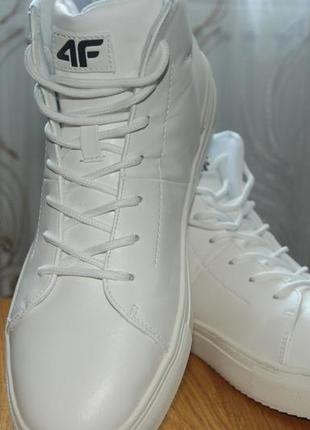Новые белые кроссовки 4f 42 / нові білі кросівки 4f 42