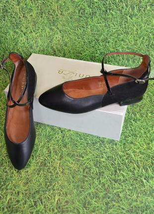 Р.39 mint&berry германия оригинал натуральная кожа! изысканные супер комфортные туфли