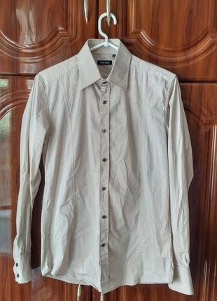 Рубашка цвета капучинно antony morato