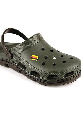 Мужские сабо в стиле crocs / крокс / сандалии / лапти
