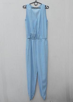 Летний джинсовый хлопковый комбинезон
