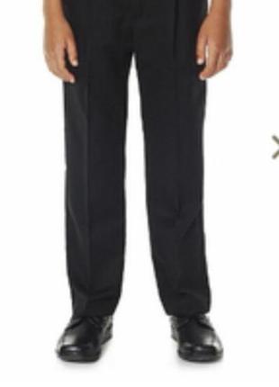 Школьные брюки для мальчика f&f англия размер 9-10 лет