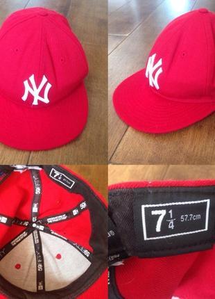 Бейсболка кепка  new york yankees р. 7