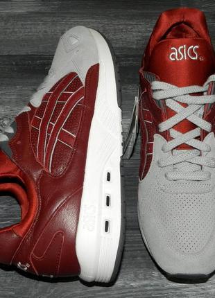 Asics gel ! оригинальные, стильные,кожаные невероятно крутые кроссовки