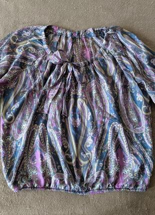 #розвантажуюсь  невесомая шелковая блуза