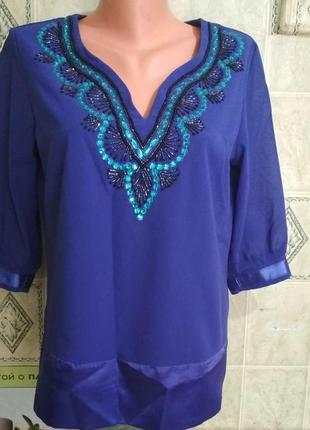 Нарядная блуза,46