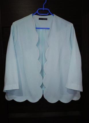 Оригинальный жакет, пиджак, большой размер