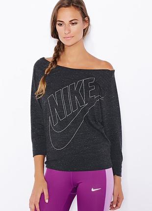 Оригинальный джемпер  новая коллекция  nike ® women's gym crew sweatshirt