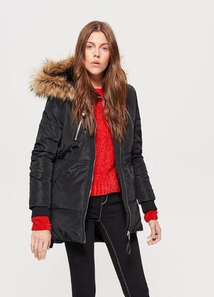 Зимняя парка пуховик куртка пальто