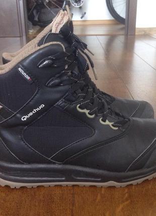 Треккинговые ботинки quechua р. 37
