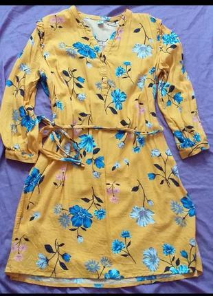 Платье с длинными руковами