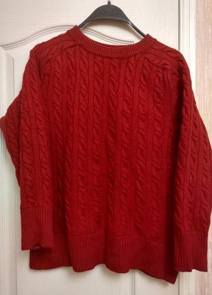 Теплый свитерок из шерсти мериноса folgore milano