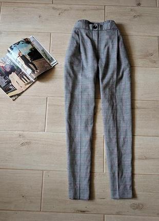 Стильные брюки штаны в клетку