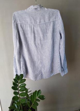 Рубашка из натурального льна2 фото