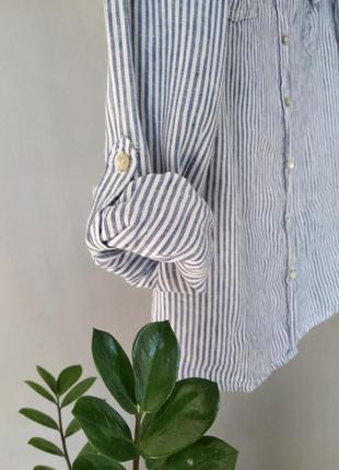 Рубашка из натурального льна6 фото