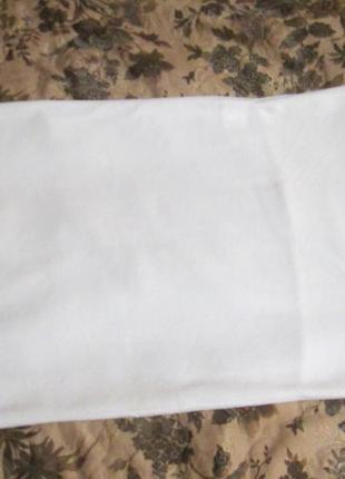 Наволочка флисовая белая cozzi houme