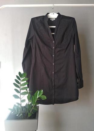 Платья - рубашка из натурального хлопка