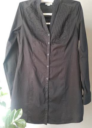 Платья - рубашка из натурального хлопка3 фото