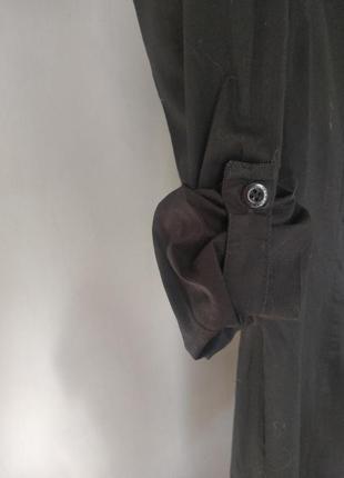 Платья - рубашка из натурального хлопка6 фото