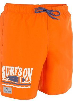 Шорты, плавки, купальник, плавочки, шортики, с завязкой, англия оранжевые, оригинал