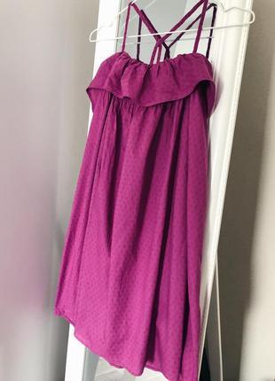 Хлопковое платье сарафан свободного кроя next3 фото