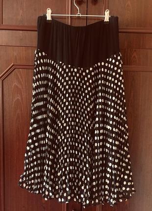 Шикарная мега женственная юбка плиссе