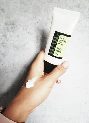 Cosrx солнцезащитный крем  корейская косметика