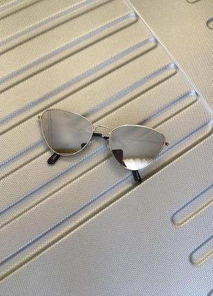 """Солнцезащитные зеркальные очки """"кошки"""""""