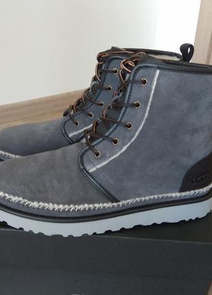 Оригинал ugg зимние ботинки нат замша us 14 стелька 32 см