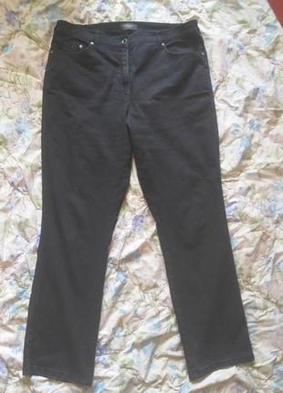 Клевые фирмовые джинсы raphaela by brax темно-серого цвета