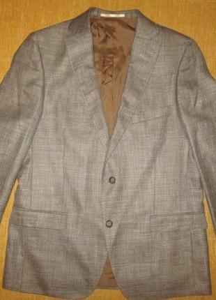 Loro piana summertime мужской пиджак блейзер atelier torino р. 50
