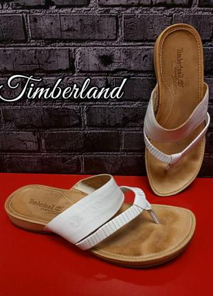 Кожаные босоножки timberland kelby thong оригинал