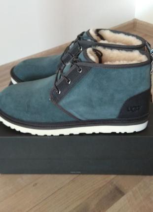Оригинал ugg зимние ботинки нат замша us 15 стелька 33 см