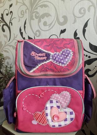 Классный школьный портфель