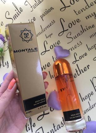 Montale aqua gold ( монталь аква голд ) 45 ml