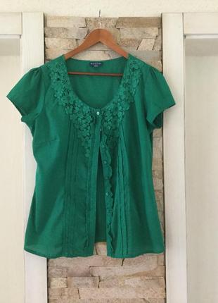 Яркая летняя блузочка.размер 50-52.